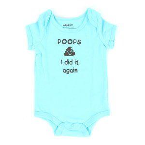 INDIGO BABY onesie, size 6-12M